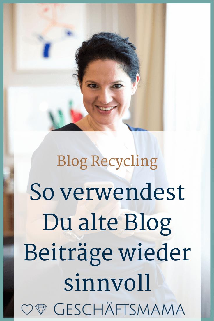 Blog Recycling Pin