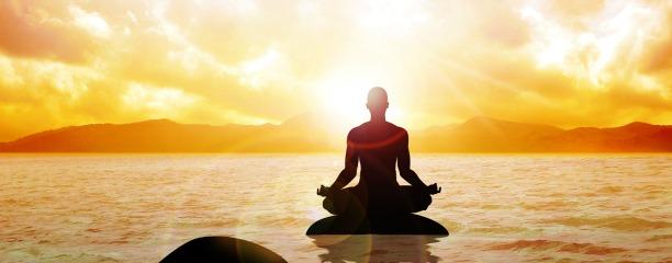 Meditation Sonnenuntergang