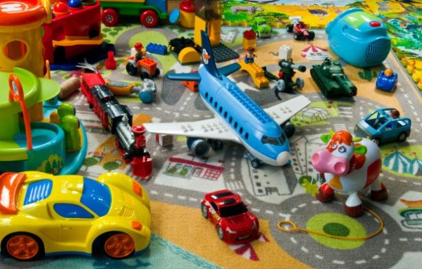 Spielzeug Saustall